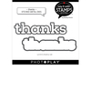 Thanks Die Set - Say It With Stamps - Photoplay