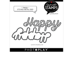 Happy Die Set - Say It With Stamps - Photoplay - PRE ORDER