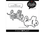 Hello Die Set - Say It With Stamps - Photoplay - PRE ORDER