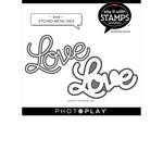 Love Die Set - Say It With Stamps - Photoplay - PRE ORDER