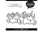 Mom / Dad Die Set - Say It With Stamps - Photoplay - PRE ORDER