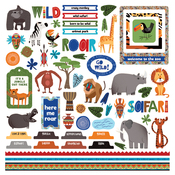 A Walk on the Wild Side Element Sticker - Photoplay