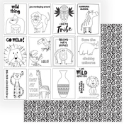 A Walk on the Wild Side Color Me Paper - PRE ORDER