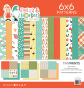 Tulla & Norbert 12x12 Quad Paper Pack - Photoplay