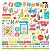 Tulla & Norbert's Excellent Adventure Element Sticker