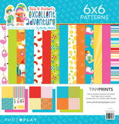 Tulla & Norbert's Excellent Adventure 12x12 Quad Paper Pack