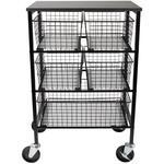 Tim Holtz Rolling Utility Basket Storage Cart