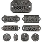 Idea-Ology Metal Factory Tags