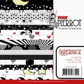 "Petit Pierrot 6""X6"" Paper Pack - Yvonne Creations - PRE ORDER"