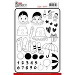 Petit Pierrot Clear Stamps - Yvonne Creations - PRE ORDER