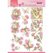 Pink Dance Punchout Sheet - Happy Birds - Find It Trading