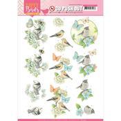 Blue Dance Punchout Sheet - Happy Birds - Find It Trading - PRE ORDER