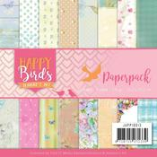"""Happy Birds 6""""X6"""" Paper Pack - Find It Trading - PRE ORDER"""
