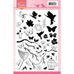 Happy Birds Clear Stamps - Find It Trading - PRE ORDER