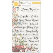 Farm Meadow Clear Stamp Set 5 - Craft Consortium