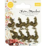 Rooster Metal Charms - Craft Consortium