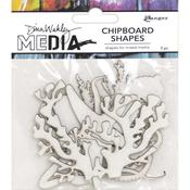 Ocean Dina Wakley Media Chipboard Shapes - PRE ORDER