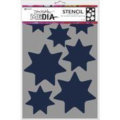 Giant Stars Dina Wakley Media Stencils