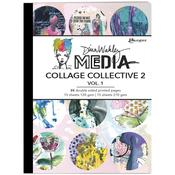 Dina Wakley Media Mixed Media Collage Collective 2 Vol 1