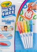 Crayola Color Wonder Mess Free Paintbrush Pens - 5/Pkg