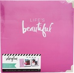 "Life's Beautiful - Heidi Swapp Storyline 2 D-Ring Album 8.5""X11"""