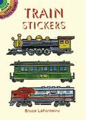 Train Stickers - Dover Publications