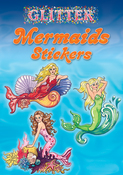 Glitter Mermaids Stickers - Dover Publications