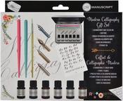Manuscript Modern Calligraphy Gift Set W/Storage Tin