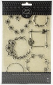 Floral Wreaths - Kelly Creates Acrylic Stamps