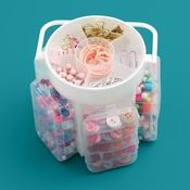 We R Craft Caddy Translucent Plastic Storage
