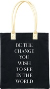 "Be The Change - Teresa Collins Totebag 16""X13"""