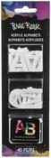 "1"" Alphabet - Brea Reese Acrylic Shapes"