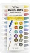 Metallic Colors - Brea Reese Watercolor Creams 12/Pkg