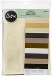 Assorted Colors-Neutral Felt Sheets - Sizzix
