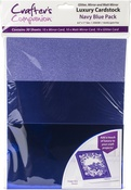 Navy Blue - Crafter's Companion Luxury Cardstock Pack