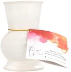White - Paper Fashion Ceramic Brush Vase