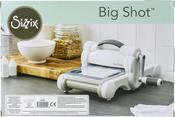 White W/Gray Big Shot Machine - Sizzix