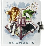 Harry Potter(TM) Watercolor Crest Diary