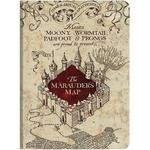 Harry Potter(TM) Marauders Map Softcover Journal