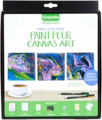 Crayola Paint Pour Canvas Art