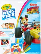 Mickey Mouse Roadster Racers - Crayola Color Wonder Coloring Pad & Markers