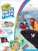 Lion King - Crayola Color Wonder Coloring Pad & Markers