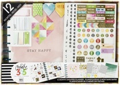 Stay Happy - Create 365 Planner Box Kit