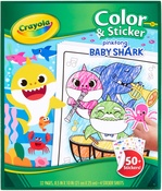 Baby Shark - Crayola Color N' Sticker Pages