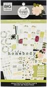 Homebody, 515/Pkg - Happy Planner Sticker Value Pack