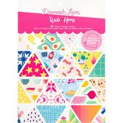 "Write At Home 6""X8"" Paper Pad - Damask Love"