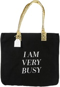 "I Am Very Busy - Teresa Collins Totebag 16""X13"""
