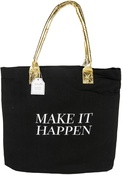 "Make It Happen - Teresa Collins Totebag 16""X13"""
