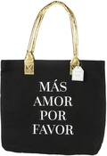 "Mas Amor Por Favor - Teresa Collins Totebag 16""X13"""