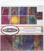 """Love Is Love - Reminisce Collection Kit 12""""X12"""""""